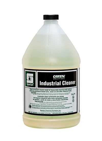 DEGREASER - INDUSTRIAL CLEANER, GREEN SOLUTIONS 3.78L