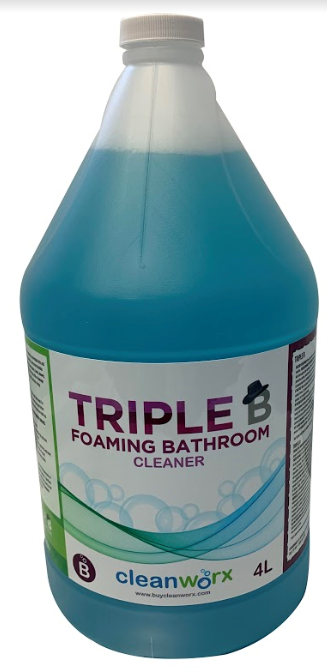 RESTROOM CLEANER - TRIPLE B MILD FOAMING BATHROOM CLEANER