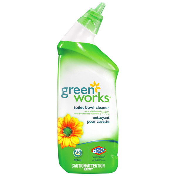 TOILET CLEANER - GREEN WORKS 12 X 709ML (01065)