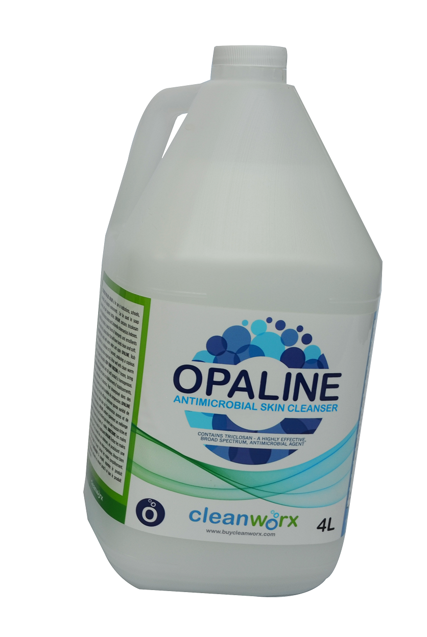 HAND SOAP - OPALINE ANTI-BAC SKIN CLEANER, SCENT FREE 4L