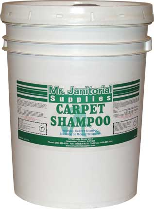 CARPET - SHAMPOO DRY FOAM 20L